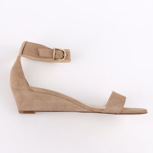 J. Crew Lillian Suede Leather Wedge Sandals